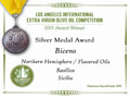 Biceno - 2015 Silver Medal Aromatizzato Basilico - Los Angeles International Extra Virgin Olive Oil competition