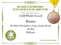 Biceno - 2016 Gold Medal Delicate Blend - Los Angeles International Extra Virgin Olive Oil competition