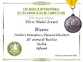Biceno - 2016 Gold Medal Aromatizzato Basilico - Los Angeles International Extra Virgin Olive Oil competition
