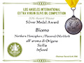 Biceno - 2016 Silver Medal Aromatizzato Origano - Los Angeles International Extra Virgin Olive Oil competition
